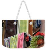 The Wet Clothes Weekender Tote Bag