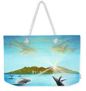 The Whales Of Maui Weekender Tote Bag