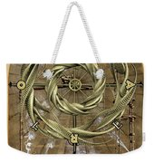 The Wheel Of Fortune Weekender Tote Bag