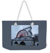 The Wheel Of Laxey, Isle Of Man Weekender Tote Bag