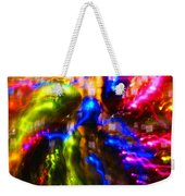 The Whirl Of Christmas Commerce Weekender Tote Bag