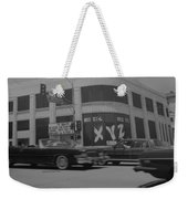 The Whiskey In Black And White Weekender Tote Bag