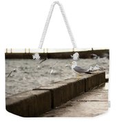 The White Bird Weekender Tote Bag