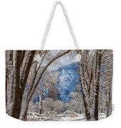 The White Forest Weekender Tote Bag
