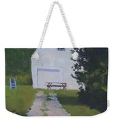 The White Garage - Art By Bill Tomsa Weekender Tote Bag
