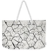 The White Painted Asphalt Shingle Weekender Tote Bag