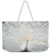 The White Peacock Weekender Tote Bag