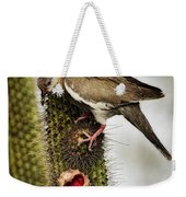 The White Winged Dove  Weekender Tote Bag