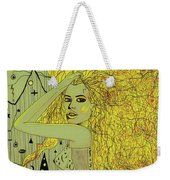 The White Witch Weekender Tote Bag