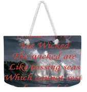 The Wicked Weekender Tote Bag