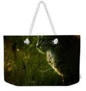 The Wild Cat Weekender Tote Bag