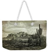 The Wild West Of The Superstitions  Weekender Tote Bag