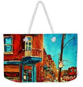 The Wilensky Doorway Weekender Tote Bag