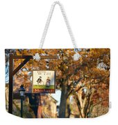 The William Pitt Shop Sign Weekender Tote Bag