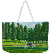 The Willow Path Weekender Tote Bag by Charlotte Blanchard