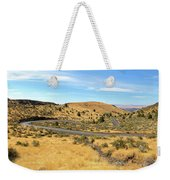 The Winding Road In Central Oregon Weekender Tote Bag
