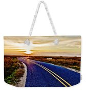The Winding Road Weekender Tote Bag