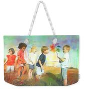 The Windmill Game Weekender Tote Bag