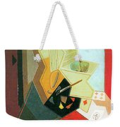 The Window Of The Painter  Weekender Tote Bag