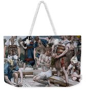 The Wine Mixed With Myrrh Weekender Tote Bag