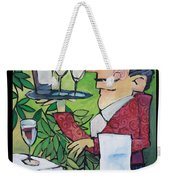 The Wine Steward - Poster Weekender Tote Bag