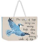 The Wings Of Hope Weekender Tote Bag