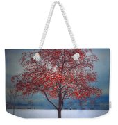 The Winter Berries Weekender Tote Bag