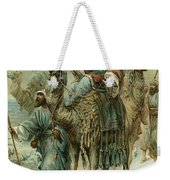 The Wise Men Seeking Jesus Weekender Tote Bag
