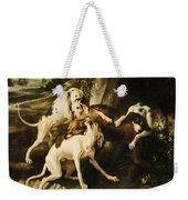 The Wolf Hunt Weekender Tote Bag