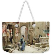 The Wolf Of Gubbio Weekender Tote Bag by Luc Oliver Merson