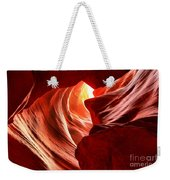 The Woman In The Canyon Weekender Tote Bag