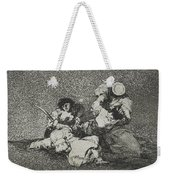 The Women Give Courage From The Series The Disasters Of War Weekender Tote Bag