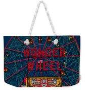 The Wonder Wheel At Luna Park Weekender Tote Bag