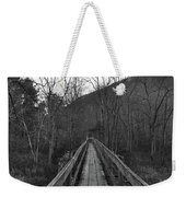 The Wooden Bridge Weekender Tote Bag