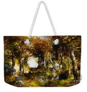 The Woodland Pool Weekender Tote Bag by Thomas Moran
