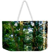 The Woodpecker Weekender Tote Bag