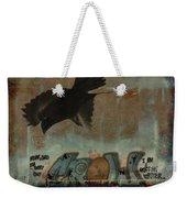 The Word Crow Weekender Tote Bag