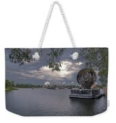 The World Goes Round Weekender Tote Bag