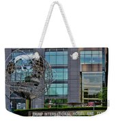 The World In New York Weekender Tote Bag