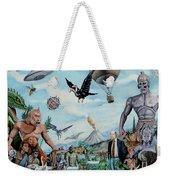 The World Of Ray Harryhausen Weekender Tote Bag