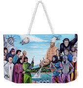 The World Of The Planet Of The Apes Weekender Tote Bag