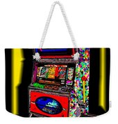 the World-Trade-Slot-Machine Weekender Tote Bag