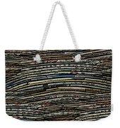 The Woven Word Weekender Tote Bag