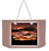 The Wow In A Sunset Weekender Tote Bag