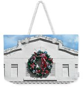 The Wreath Weekender Tote Bag