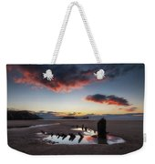 The Wreck Of The Helvetia And Worms Head Weekender Tote Bag