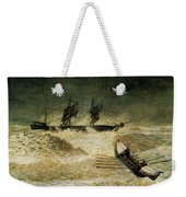 The Wreck Of The Iron Cloud, 1881 Weekender Tote Bag