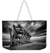 The Wreck Of The Peter Iredale Weekender Tote Bag