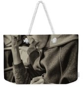 The Writer Candid Shot Venice_dsc1374_02282017 Weekender Tote Bag