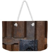 The Wrought Iron Handle Weekender Tote Bag